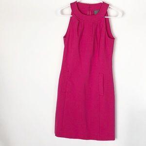 Ann Taylor Sleeveless Pink Dress